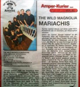 CD Kritik Boogie Indians - The Wild Magnolia Mariachis